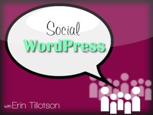 wordpress social optimization